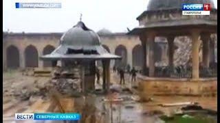 Фонд Кадырова восстановит мечети в Сирии