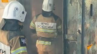 Пожар в Гудермесе полностью уничтожил  мечеть