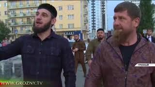 РАМЗАН КАДЫРОВ ПОСЕТИЛ СТРОИТЕЛЬНЫЕ ПЛОЩАДКИ ГРОЗНОГО