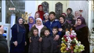 Р Кадыров поздравил с днем рождения А Н