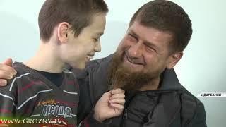 Рамзан Кадыров посетил Республиканскую психиатрическую лечебницу «Дарбанхи»