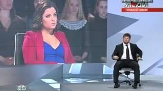РАМЗАН КАДЫРОВ дает интервью журналистам ИЗ НТВ