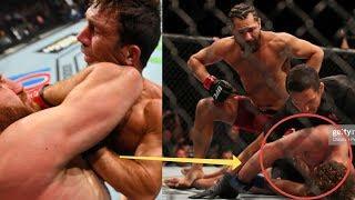 БЕЗУМИЕ НА UFC 239! НОКАУТ БЕНА АСКРЕНА, ПОТАСОВКА ХАБИБА И НЕЙТА, БОЙ РОКХОЛЬДА