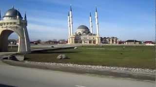 Чечня. Грозный. Мечеть.