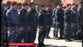 Полк ППСП по Административной границе МВД по Республике Ингушетия отметил 22-годовщину