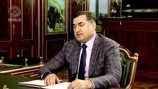 Заслушал доклад Мохмад Эми Ахмадова
