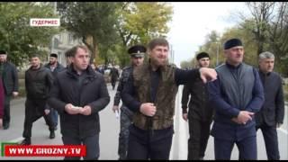 Рамзан Кадыров совершил прогулку по городу своего детства
