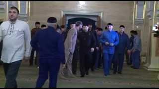 Рамзан Кадыров. Утренняя молитва