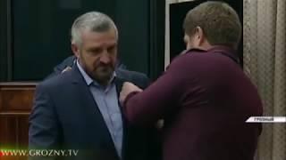 Кадыров наградил тех, кто участвовал в определении границы между Чечней и Ингушетией