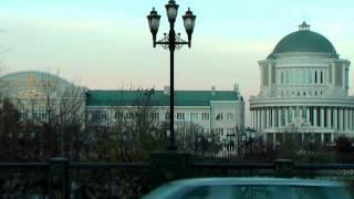 Мирный Город Грозный. Новый современный - старого города нет совсем, только в воспоминаниях местных