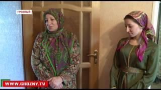 Фонд Кадырова помог семье Джабраиловых сделать ремонт