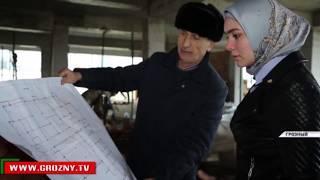 В Грозном ведется строительство нового микрорайона