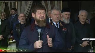 Рамзан Кадыров дал торжественный новогодний приём в Гранд-Холле «Firdaws»