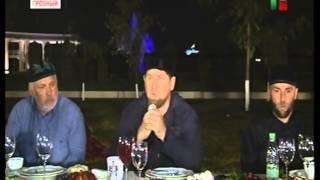 Р. Алханов поблагодарил Р. Кадырова за оказанное внимание сотрудникам правоохранительных органов.