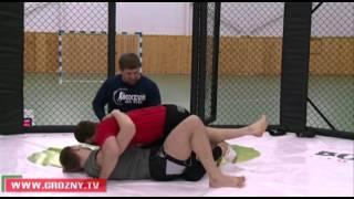 Рамзан Кадыров на ринге с Абдулкеримом Эдиловым
