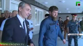 В Чечне состоялось открытие двух лечебных учреждений
