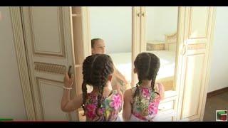 Кадыров построил дом для малоимущей семьи из села Нагорное