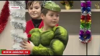 В Центре образования им. Ахмата-Хаджи Кадырова прошел Новогодний утренник