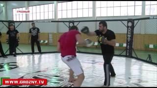 Рамзан Кадыров готовит Эдилова к международному турниру по смешанным единоборствам «Грозная битва-2»