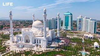 Крупнейшую мечеть в Европе открыли в Чечне