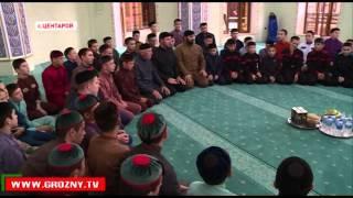 В Центароевской школе хафизов почтили память Ахмата-Хаджи Кадырова