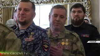 В Чечне наградили личный состав 141-го специального полка имени Ахмата-Хаджи Кадырова