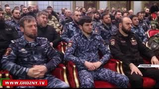 Рамзан Кадыров встретился с руководством МВД по ЧР и Управления ФСВНГ РФ по ЧР