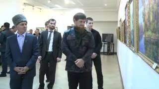 """Я посетил выставку художника Чеченской Республики Анди Шамилова """"В истории природы - наши судьбы"""""""