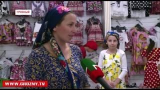 Торговый центр «Firdaws» и фонд имени Кадырова подарили нуждающимся комплекты новой одежды