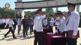Торжественное мероприятие посвященное юбилею СУВОРОВСКОГО УЧИЛИЩА