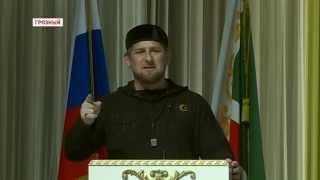 Передача боевого знамени полка МВД РФ имени Ахмат-Хаджи Кадырова