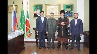 Муфтий РД шейх Ахмад Афанди посетил с официальным визитом Чеченскую республику