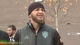 В Чечне прошел первый республиканский чемпионат по скалолазанию