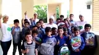 РОФ имени Героя России Ахмат-Хаджи Кадырова помогает детям Сирии