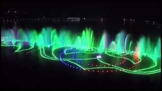 В Грозном открыли самый большой фонтан в мире!!!