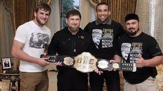 Рамзан Кадыров нокаутировал бойца UFC