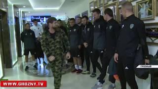 Рамзан Кадыров поднялся пешком на самый верх отеля «Грозный–Сити»