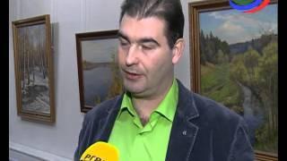 Глава республики открыл выставку Александра Шилова-младшего