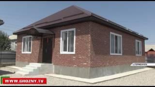 Фонд Кадырова построил дом для семьи Умаровых из села Герменчук