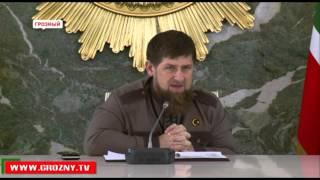 Рамзан Кадыров встретился с известными писателями и учеными Чечни
