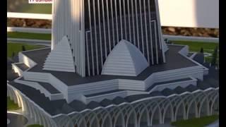 В Грозном заложили капсулу под строительство «Башни Ахмат»