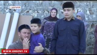Рамзан Кадыров  провел обряд жертвоприношения в селе Центарой