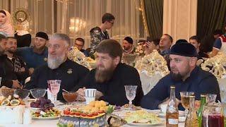 Встреча с чеченской молодежью из Иордании