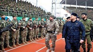 Рамзан Кадыров и его мощная армия