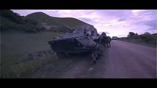 Тактические учения сотрудников МВД по Чеченской Республики