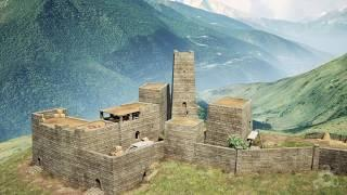 Ижарте - Ингушский горный замок