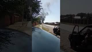 Massive explosion in Samashki, Chechnya
