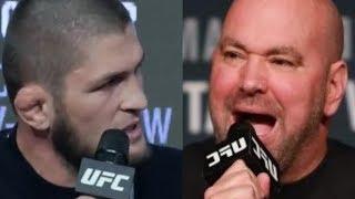 ХАБИБ НУРМАГОМЕДОВ ПРОТИВ UFC - КОНФЛИКТ ИЗ-ЗА ЗУБАЙРЫ ТУХУГОВА!