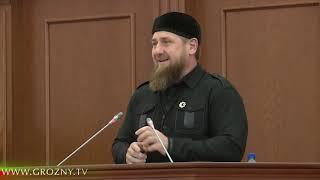 Рамзан Кадыров принял участие в торжественном собрании, посвящённом Дню Конституции ЧР