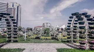 Цветущий город Грозный! Чечня 2018 /Blooming city of Grozny!